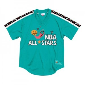NBA 1995 All-Star Mesh V-Neck Top By Mitchell & Ness - Mens