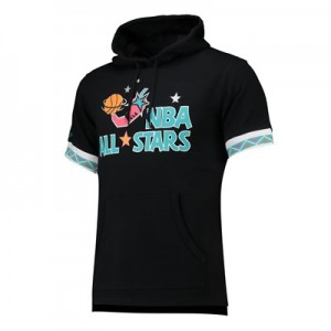 NBA 1996 All-Star French Terry Short Sleeve Hoodie By Mitchell & Ness - Mens