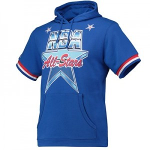 NBA 1991 All-Star French Terry Short Sleeve Hoodie By Mitchell & Ness - Mens