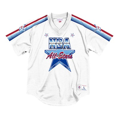 NBA 1991 All-Star Mesh V-Neck Top By Mitchell & Ness - Mens