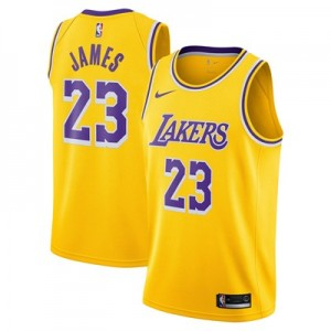Nike Los Angeles Lakers Nike Icon Swingman Jersey - LeBron James - Mens Los Angeles Lakers Nike Icon Swingman Jersey - LeBron James - Mens