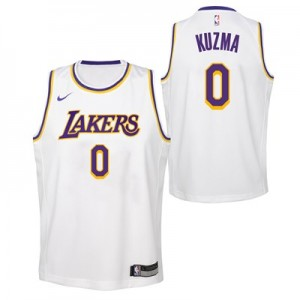 Nike Los Angeles Lakers Nike Association Swingman Jersey - Kyle Kuzma - Youth Los Angeles Lakers Nike Association Swingman Jersey - Kyle Kuzma - Youth
