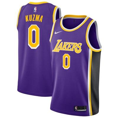 Nike Los Angeles Lakers Nike Statement Swingman Jersey - Kyle Kuzma - Mens Los Angeles Lakers Nike Statement Swingman Jersey - Kyle Kuzma - Mens