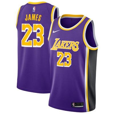Nike Los Angeles Lakers Nike Statement Swingman Jersey - LeBron James - Mens Los Angeles Lakers Nike Statement Swingman Jersey - LeBron James - Mens
