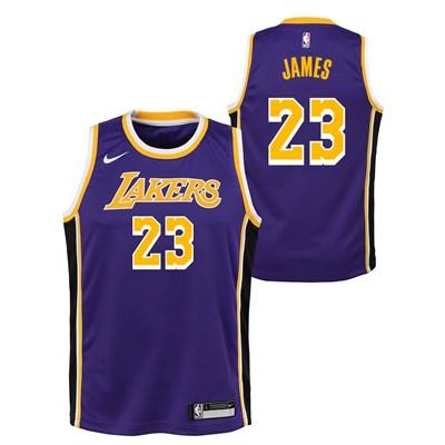 Nike Los Angeles Lakers Nike Statement Swingman Jersey - LeBron James - Youth Los Angeles Lakers Nike Statement Swingman Jersey - LeBron James - Youth