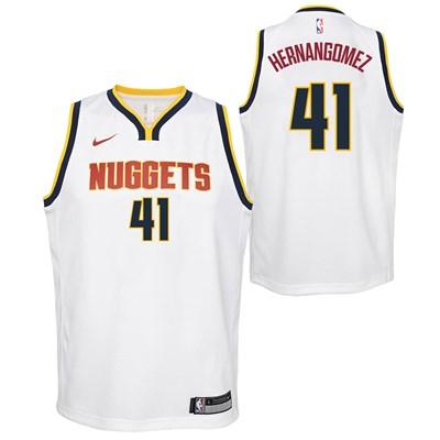 Nike Denver Nuggets Nike Association Swingman Jersey - Juan Hernangomez - Youth Denver Nuggets Nike Association Swingman Jersey - Juan Hernangomez - Youth