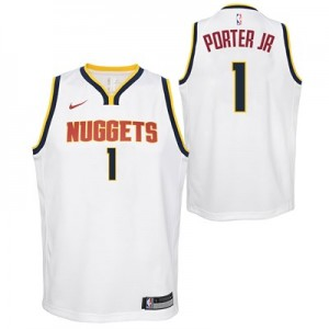 Nike Denver Nuggets Nike Association Swingman Jersey - Michael Porter Jr - Youth Denver Nuggets Nike Association Swingman Jersey - Michael Porter Jr - Youth