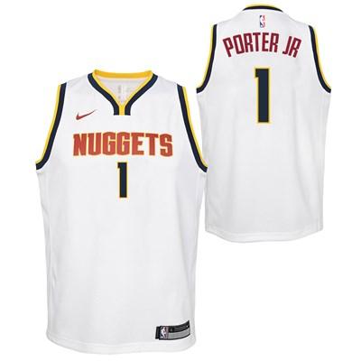 Nike Denver Nuggets Nike Association Swingman Jersey - Michael Porter Jr - Youth Denver Nuggets Nike Association Swingman Jersey - Michael Porter Jr - Youth