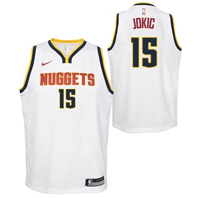 Nike Denver Nuggets Nike Association Swingman Jersey - Nikola Jokic - Youth Denver Nuggets Nike Association Swingman Jersey - Nikola Jokic - Youth