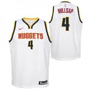 Nike Denver Nuggets Nike Association Swingman Jersey - Paul Millsap - Youth Denver Nuggets Nike Association Swingman Jersey - Paul Millsap - Youth
