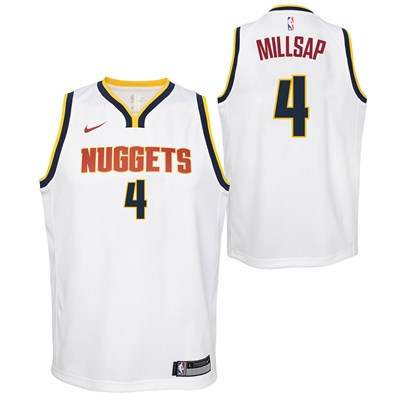 Nike Denver Nuggets Nike Association Swingman Jersey - Paul Millsap - Youth Denver Nuggets Nike Association Swingman Jersey - Paul Millsap - Youth