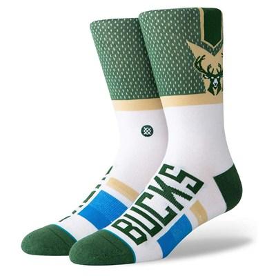 Milwaukee Bucks Shortcut Sock - Mens