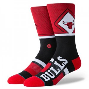 Chicago Bulls Shortcut Sock - Mens
