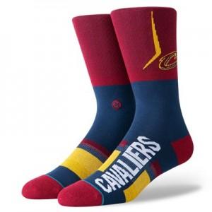 Cleveland Cavaliers Shortcut Sock - Mens
