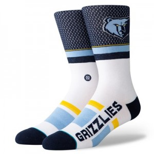 Memphis Grizzlies Shortcut Sock - Mens