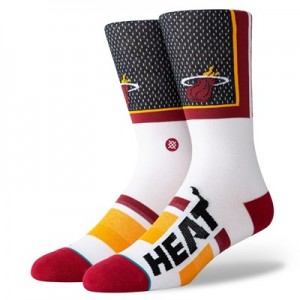 Miami Heat Shortcut Sock - Mens