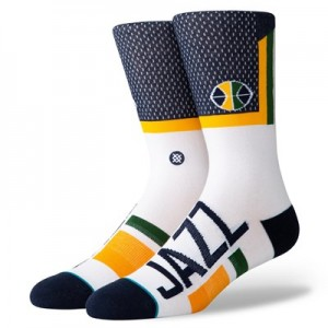 Utah Jazz Shortcut Sock - Mens
