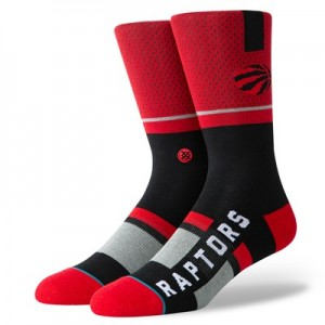 Toronto Raptors Shortcut Sock - Mens