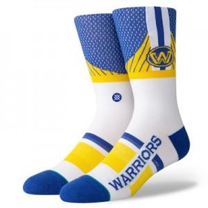 Golden State Warriors Shortcut Sock - Mens
