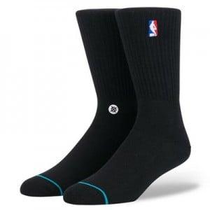 NBA Logoman Crew II Sock - Black - Mens