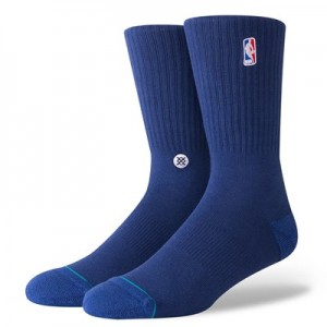 NBA Logoman Crew II Sock - Navy - Mens