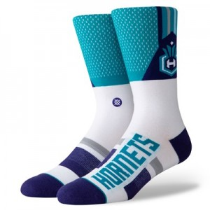 Charlotte Hornets Shortcut Sock - Mens