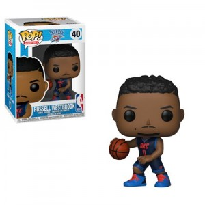 Oklahoma City Thunder Russell Westbrook Pop Vinyl Collectible Figure