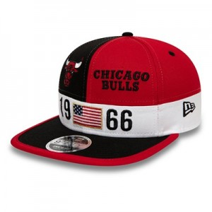 Chicago Bulls New Era Colour Block League 9FIFTY Snapback Cap
