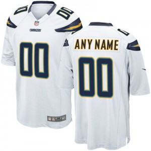 Los Angeles Chargers Road Game Jersey - Custom - Mens
