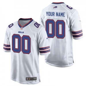 Buffalo Bills Road Game Jersey - Custom - Mens