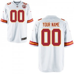 Kansas City Chiefs Road Game Jersey - Custom - Mens