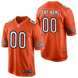 Chicago Bears Alternate Game Jersey - Custom - Mens