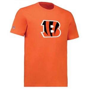 Cincinnati Bengals Team Logo Core T-Shirt - Orange - Mens