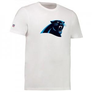 Carolina Panthers Team Logo Core T-Shirt - White - Mens