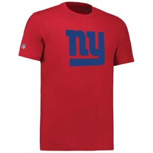 New York Giants Team Logo Core T-Shirt - Game Red - Mens