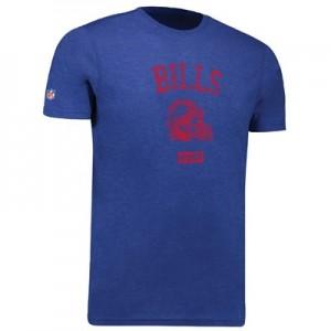 Buffalo Bills Helmet Fashion T-Shirt - Royal - Mens