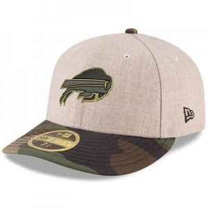 Buffalo Bills New Era Heather Camo Low Profile 59FIFTY Fitted Cap