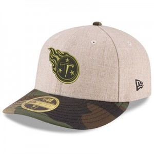 Tennessee Titans New Era Heather Camo Low Profile 59FIFTY Fitted Cap