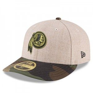 Washington Redskins New Era Heather Camo Low Profile 59FIFTY Fitted Cap