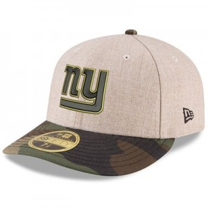 New York Giants New Era Heather Camo Low Profile 59FIFTY Fitted Cap