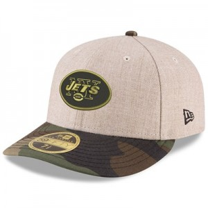 New York Jets New Era Heather Camo Low Profile 59FIFTY Fitted Cap