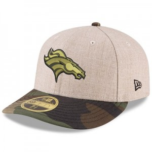 Denver Broncos New Era Heather Camo Low Profile 59FIFTY Fitted Cap