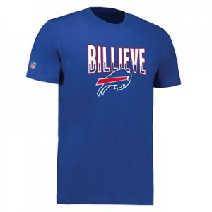 Buffalo Bills Billieve Hometown Core T-Shirt - Royal - Mens