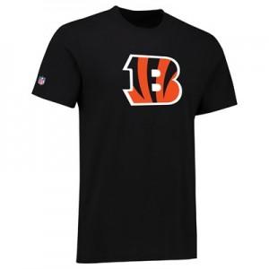 Cincinnati Bengals Team Logo Core T-Shirt - Black - Mens