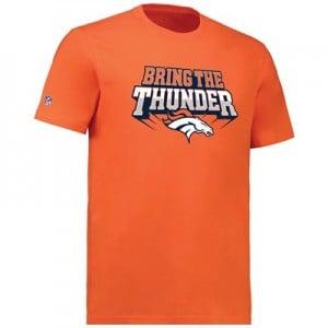 Denver Broncos Bring the Thunder Hometown Core T-Shirt - Orange - Mens