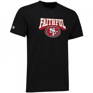 San Francisco 49ers The Faithful Hometown Core T-Shirt - Black - Mens