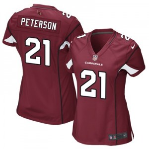 Arizona Cardinals Home Game Jersey - Patrick Peterson - Womens