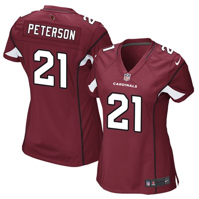 Arizona Cardinals Home Game Jersey - Patrick Peterson - Womens