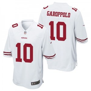San Francisco 49ers Road Game Jersey - Jimmy Garoppolo