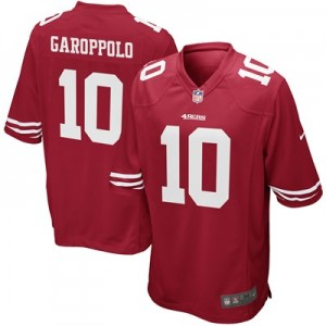 San Francisco 49ers Home Game Jersey - Jimmy Garoppolo